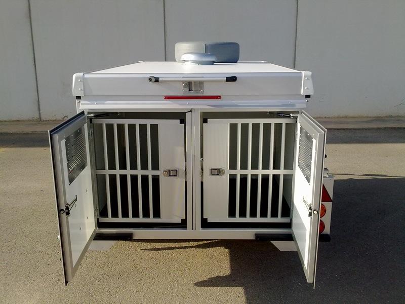 Remolque Isotérmico para perros